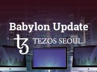 Tezos seoul logo - Babylon Update, Tezos Babylon - 테조스 바빌론 업데이트